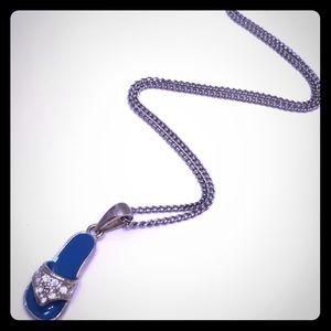 Flip Flop Pendant Necklace